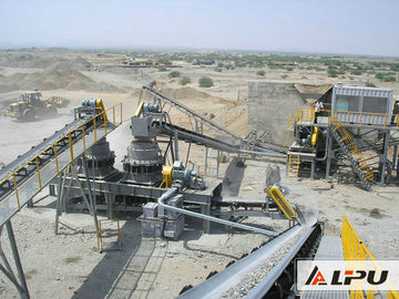 Trung Quốc Efficient Basalt Stone Jaw Crushing Plant , Quarry Crushing Equipment nhà phân phối