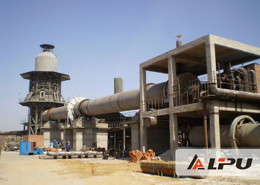 Trung Quốc 1.4×33 Energy Saving Cement Rotary Kiln For Wet / Dry Cement Production nhà máy sản xuất