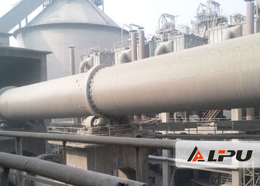55kw Wet And Dry Process Cement Rotary Kiln Cement Plant , Steel Mill / Rotary Lime Kiln
