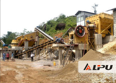 Trung Quốc Customized Rock Crushing Equipment , Complete Stone Crushing And Screening Plant nhà máy sản xuất