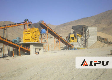 Trung Quốc High Crushing Ratio Stone Crushing Plant , Stone Jaw Crusher Machine 200t/h nhà phân phối
